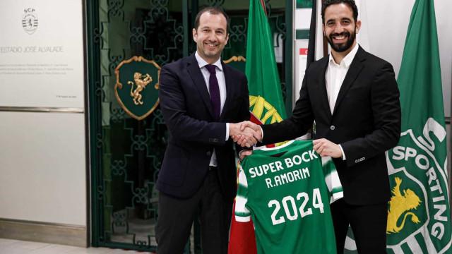Oficial: Rúben Amorim renova com o Sporting