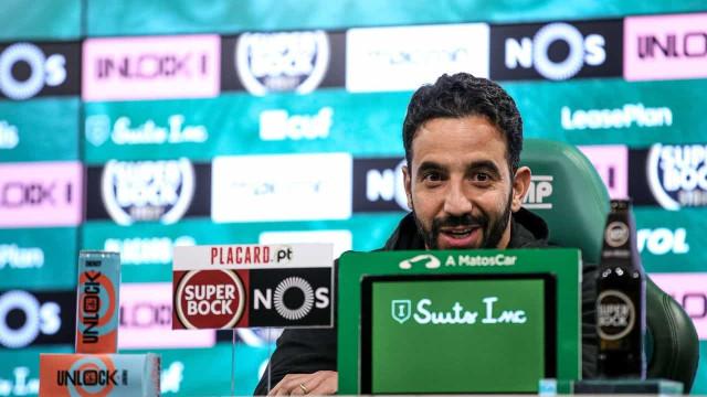 """Amorim: """"Venha a proposta que vier, não vou sair do Sporting"""""""