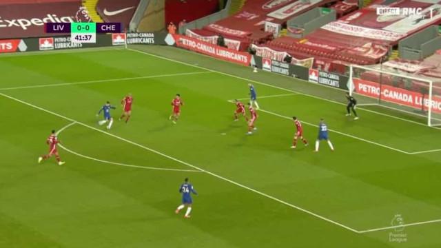 O golaço de Mason Mount que resolveu o Liverpool-Chelsea