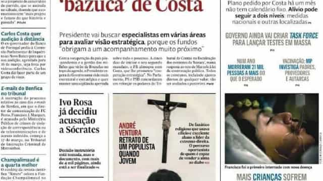 Hoje é notícia: Bazuca trava autoestradas; Desconfinar (ainda) sem datas