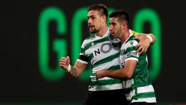 Coates 'resgata' vitória nos descontos e Sporting bate Santa Clara