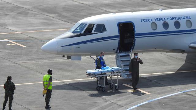 Força Aérea transporta doente grave dos Açores para o Continente