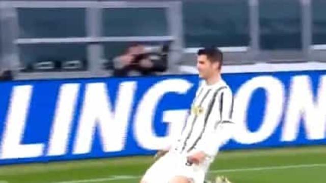 Morata consumou reviravolta da Juventus após bela arrancada de Chiesa