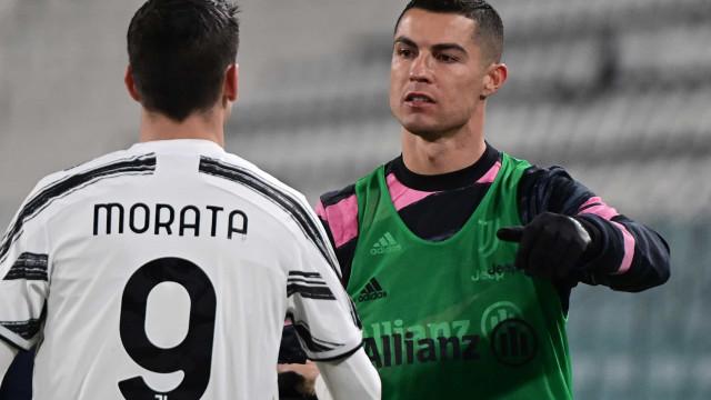 Atenção, FC Porto: Juventus vence Lazio com CR7... a descansar