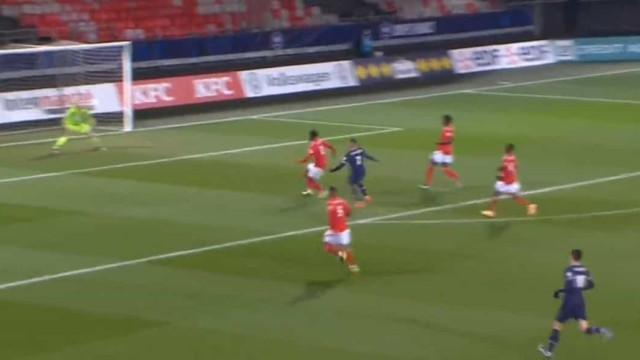 Mbappé 'ligou o turbo' e só parou quando inaugurou o marcador