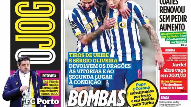 """Por cá: Vitória """"com galo"""" e Boloni acredita num Sporting campeão"""