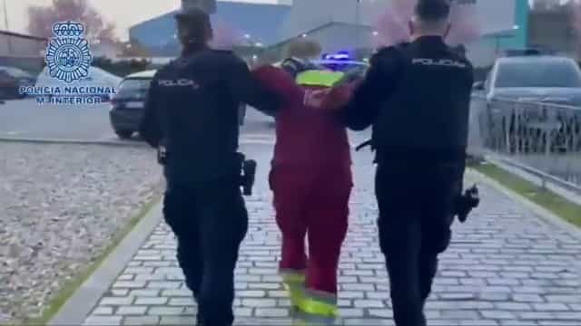 Polícia publica detenção do bombeiro que matou enfermeiro em Madrid