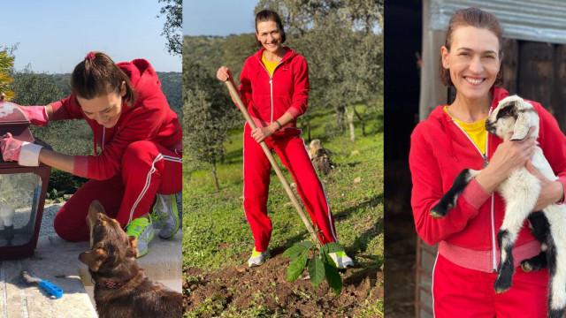 """Fátima Lopes: """"Um dia perfeito"""" a desfrutar das maravilhas do campo"""