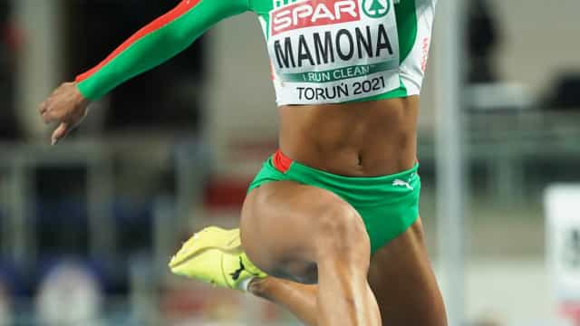 Portugal 'triplica' o Ouro: Mamona, campeã europeia do triplo salto
