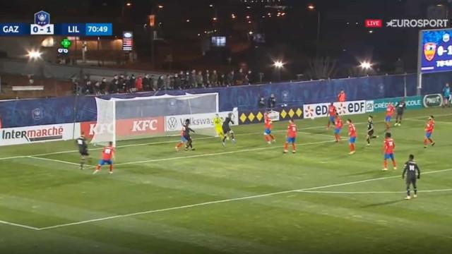 Sanches assistiu e Xeka aumentou a vantagem do Lille sobre o GFC Ajaccio