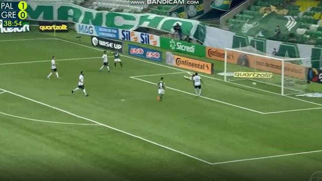 Gabriel Menino sentenciou vitória do Palmeiras com este golo