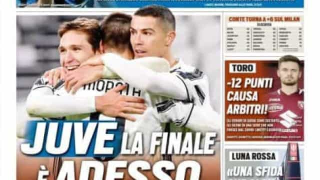 """Lá fora: Juventus só tem olhos para o FC Porto e há """"luta"""" em Espanha"""