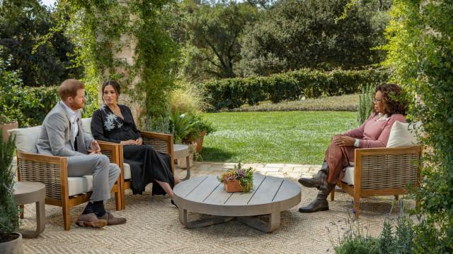 Harry e Meghan Markle arrependem-se de entrevista a Oprah Winfrey
