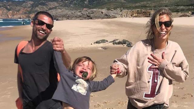 Com o filho a recuperar, Jessica Athayde mostra menino com Diogo Amaral