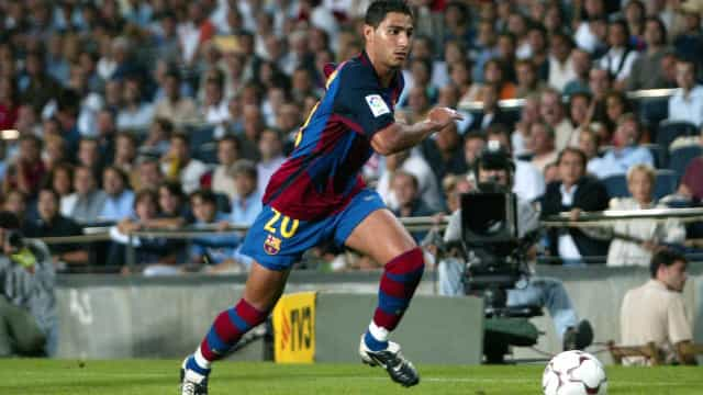 As seis contratações do Barça no mercado 'louco' em 2003. Lembra-se?
