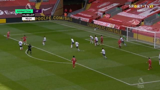 O golaço de Alexander-Arnold que garantiu a vitória ao Liverpool