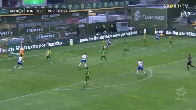 O golo de Taremi que selou a vitória do FC Porto em Tondela