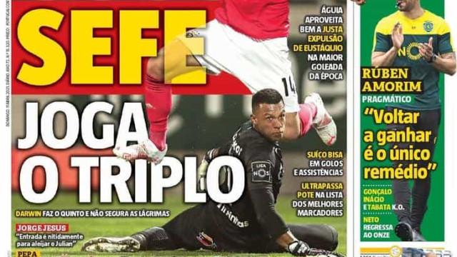 Por cá: Seferovic partiu mobília, FC Porto matador e Sporting quer ganhar