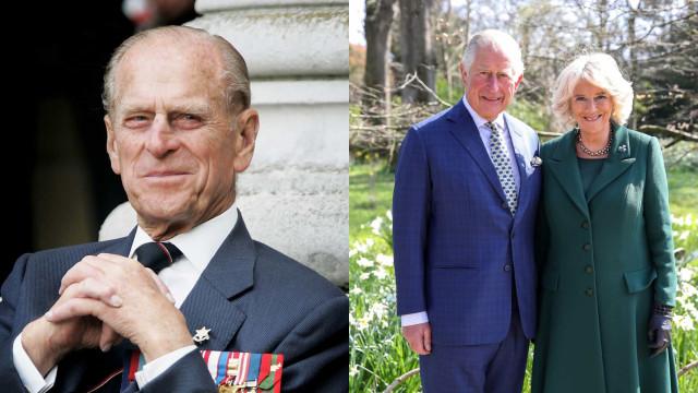 Príncipe Filipe morreu no aniversário de casamento de Carlos e Camila