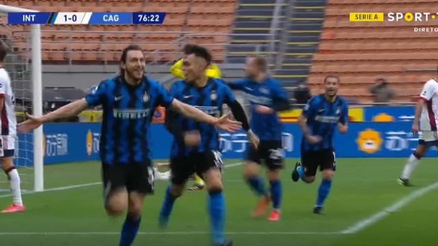 O golo solitário de Darmian que valeu a vitória ao Inter