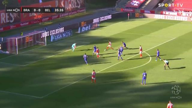 Foi assim que Gaitán acabou com o nulo no Sp. Braga-Belenenses SAD
