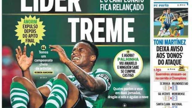Por cá: Leão acusa pressão, Seferovic goleador e o apoio ao FC Porto