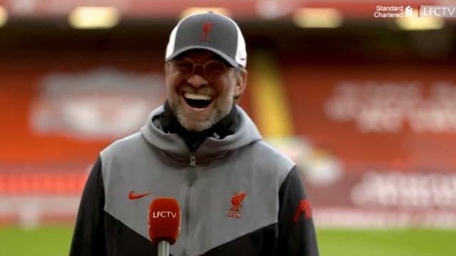 Liverpool acabou com 'maldição' caseira e reação de Klopp é imperdível