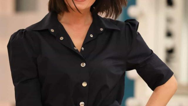 Elegância de Melânia Gomes destaca-se no pequeno ecrã