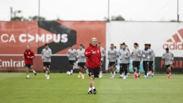 Treino do Benfica traz três boas notícias a Jorge Jesus