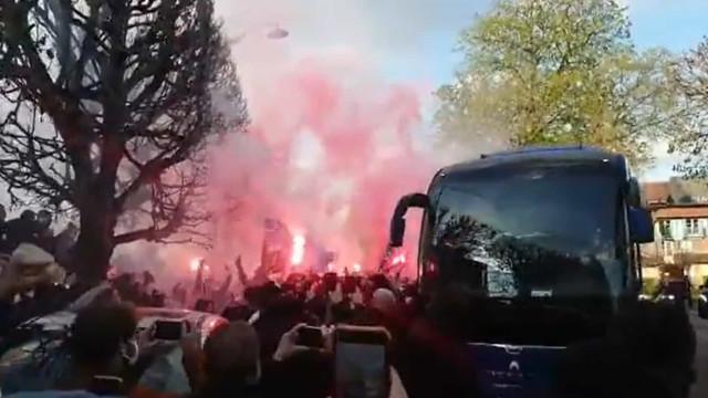 Loucura em Paris a poucas horas do PSG-Bayern Munique