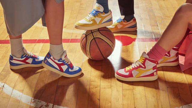 A nova coleção Diadora Heritage faz homenagem ao atletismo e ao basquete