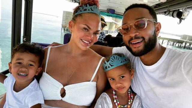 John Legend e Chrissy Teigen celebram aniversário da filha mais velha