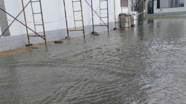 Mau tempo em Évora causou inundações e há imagens