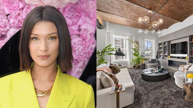 Penthouse de Bella Hadid em Nova Iorque vendida por 5 milhões de euros