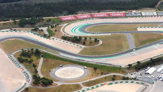 O autódromo de Portimão visto pelas 'lentes' de Maverick Viñales