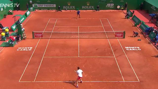 O ponto histórico para Evans: Eis o momento da eliminação de Djokovic