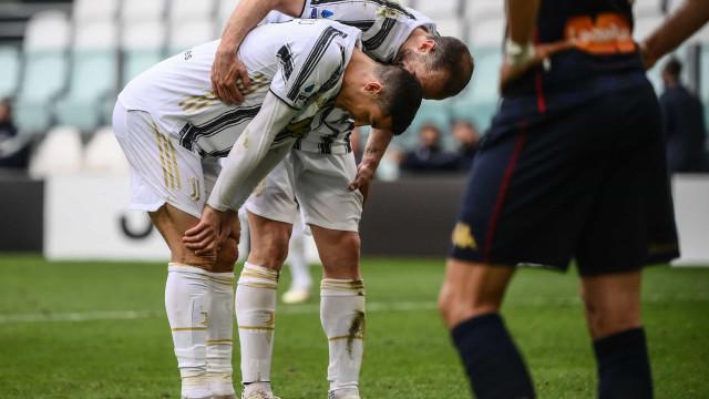 """Cristiano Ronaldo arrasado em Itália: """"Nem alguém como ele tem mercado"""""""