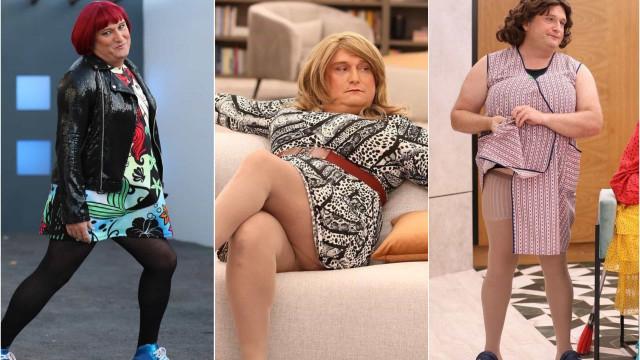 Look da semana: Personagens de Eduardo Madeira são um êxito absoluto