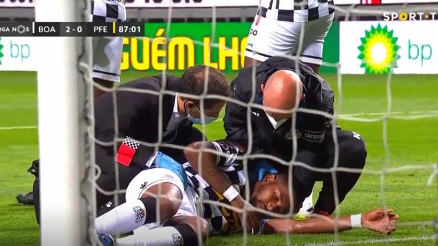 Devenish sofreu traumatismo craniano frente ao Paços de Ferreira