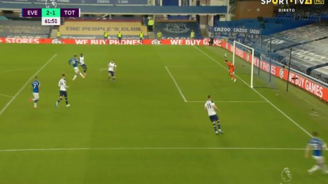O resumo do terceiro jogo consecutivo sem vencer do Tottenham