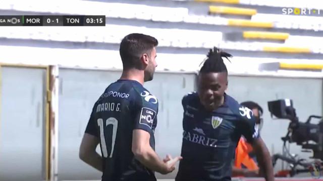 Incrível. Mario González faz hat-trick pelo Tondela em... oito minutos