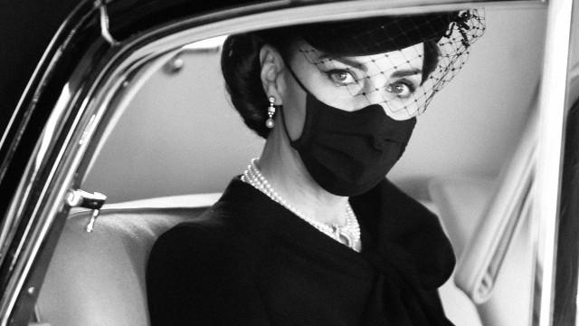 Kate Middleton e a doce homenagem à rainha e a Diana no funeral