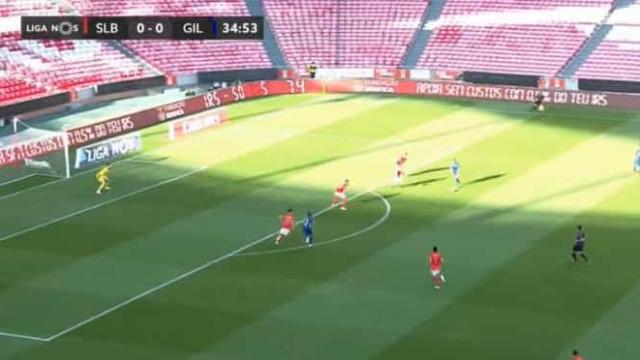 Gil Vicente 'gelou' a Luz e colocou, assim, o Benfica em desvantagem