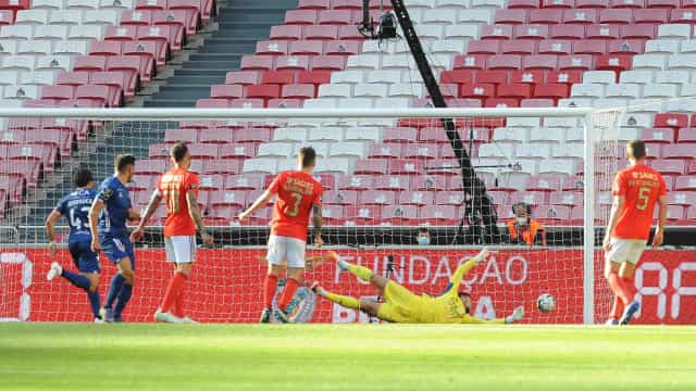 Benfica perde na Luz com o Gil Vicente e complica contas do campeonato