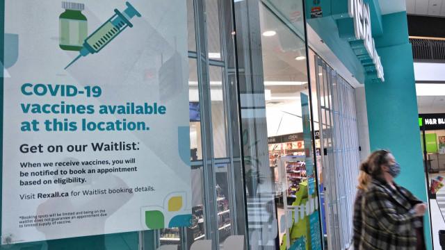 Canadá regista segundo caso de coágulos após vacinação com AstraZeneca