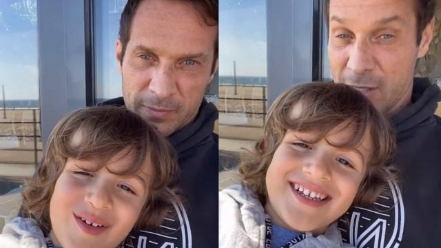 """José Carlos Pereira: """"Vida de pai... não é fácil"""""""
