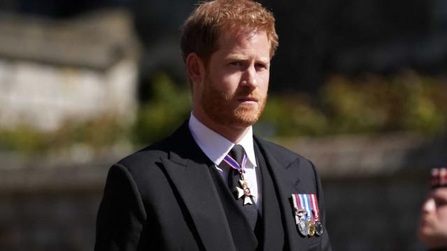 Príncipe Harry viajou para os EUA, mas contam-se os dias para o regresso