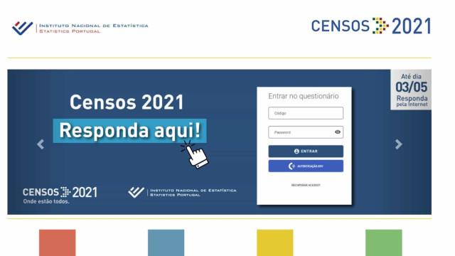 Já tem os códigos dos Censos 2021? Pode responder a partir de hoje