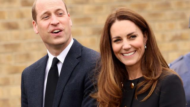Carro de luxo que pertencia a William e Kate Middleton vai estar à venda