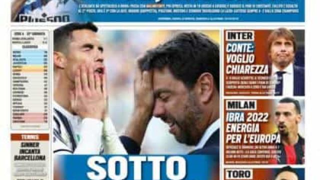 """Lá fora: Manchester United """"atacado""""... e atrás de Cristiano Ronaldo"""